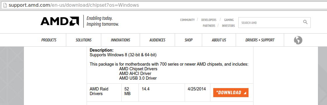 драйвер usb 3.0 для windows 7 acer